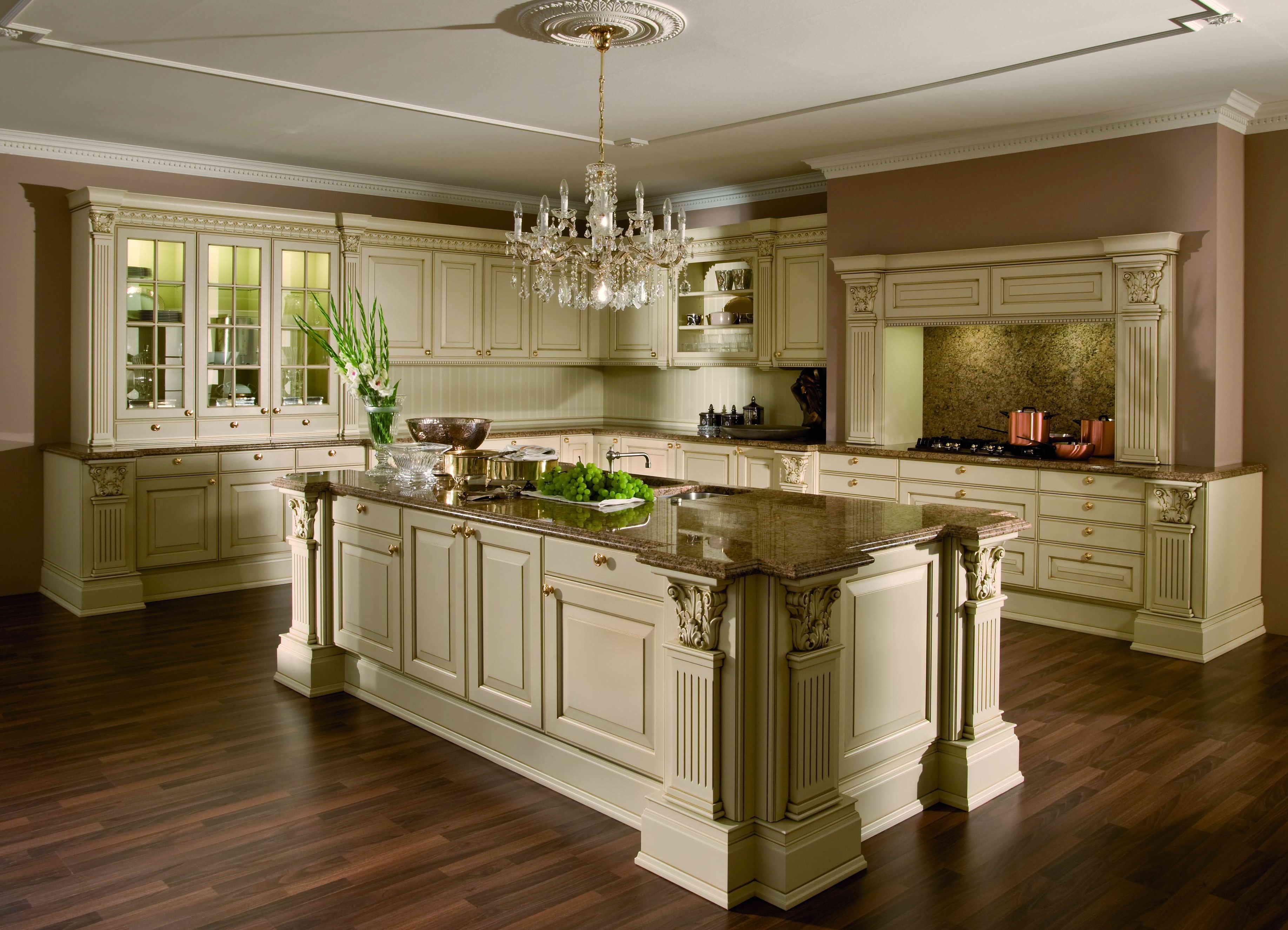 Кухни люкс фото